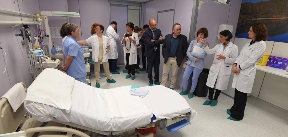 Las matronas refuerzan su papel en los nuevos paritorios del Hospital Donostia