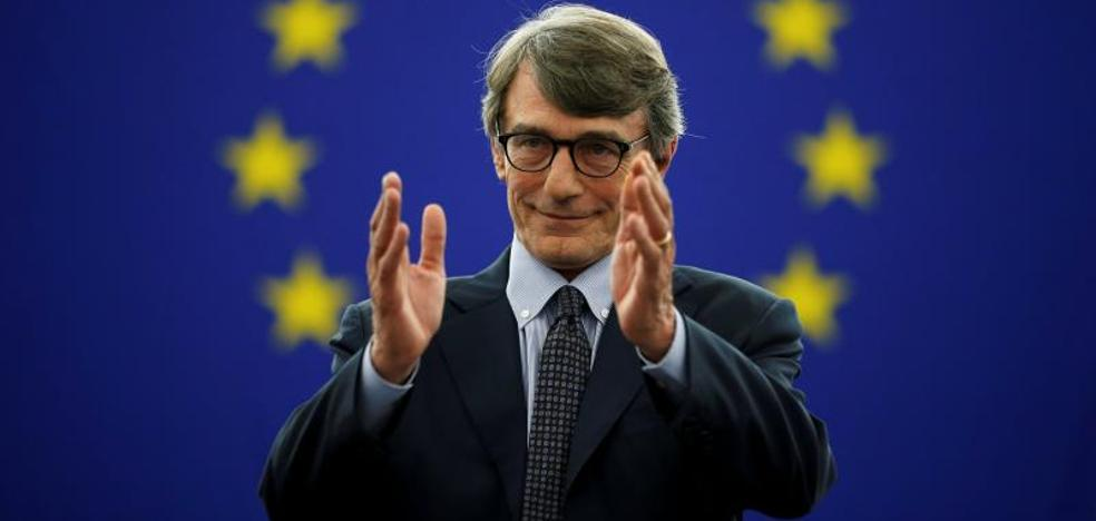 El socialista Sassoli presidirá la Eurocámara