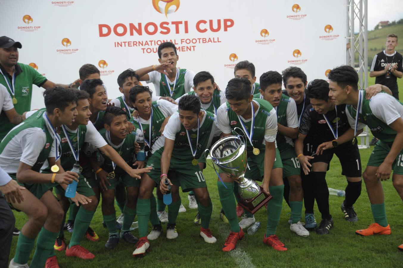 Las mejores imágenes de otras ediciones de la Donosti Cup