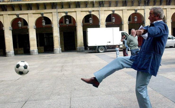 Las visitas de Arturo Fernández a Donostia
