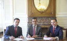 Acuerdo de patrocinio del Santander con la Donosti Cup