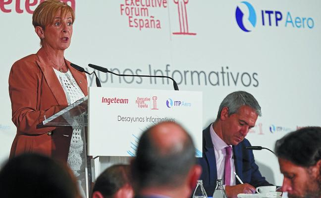 Tapia denuncia el interés por «extender la idea» de que las empresas vascas están en venta