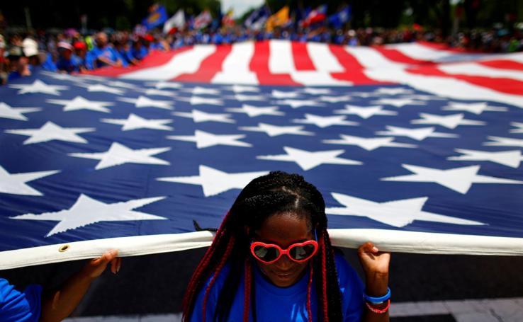 El 4 de julio en un EEUU dividido