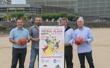 Vuelve el fútbol playa a La Zurriola