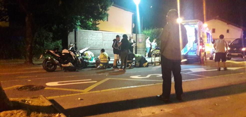 «Los de la moto salieron veinte metros despedidos por el impacto»