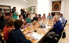 PSN, Geroa Bai, Podemos e I-E están reunidos cierran un preacuerdo de formación de gobierno