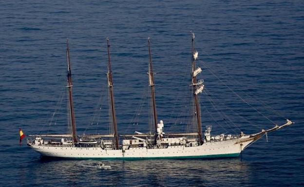Consulta la ruta de el 'Juan Sebastian Elcano'