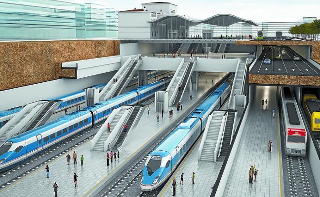 La estación del TAV en Vitoria se encarece otros 150 millones hasta casi los 900