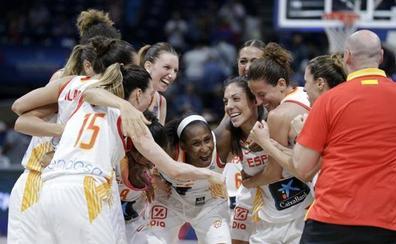 España se gana su décima medalla en el Eurobasket
