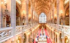 Una de las bibliotecas más bonitas del mundo y otras razones para ir a Manchester