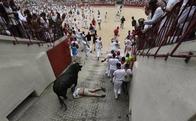 Dado de alta el joven donostiarra herido en el primer encierro de San Fermín