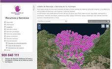 Indarkeria matxistaren aurkako baliabideen mapa geolokalizatua sareratu du Emakundek