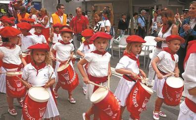 Rataplanes para honrar a San Fermín