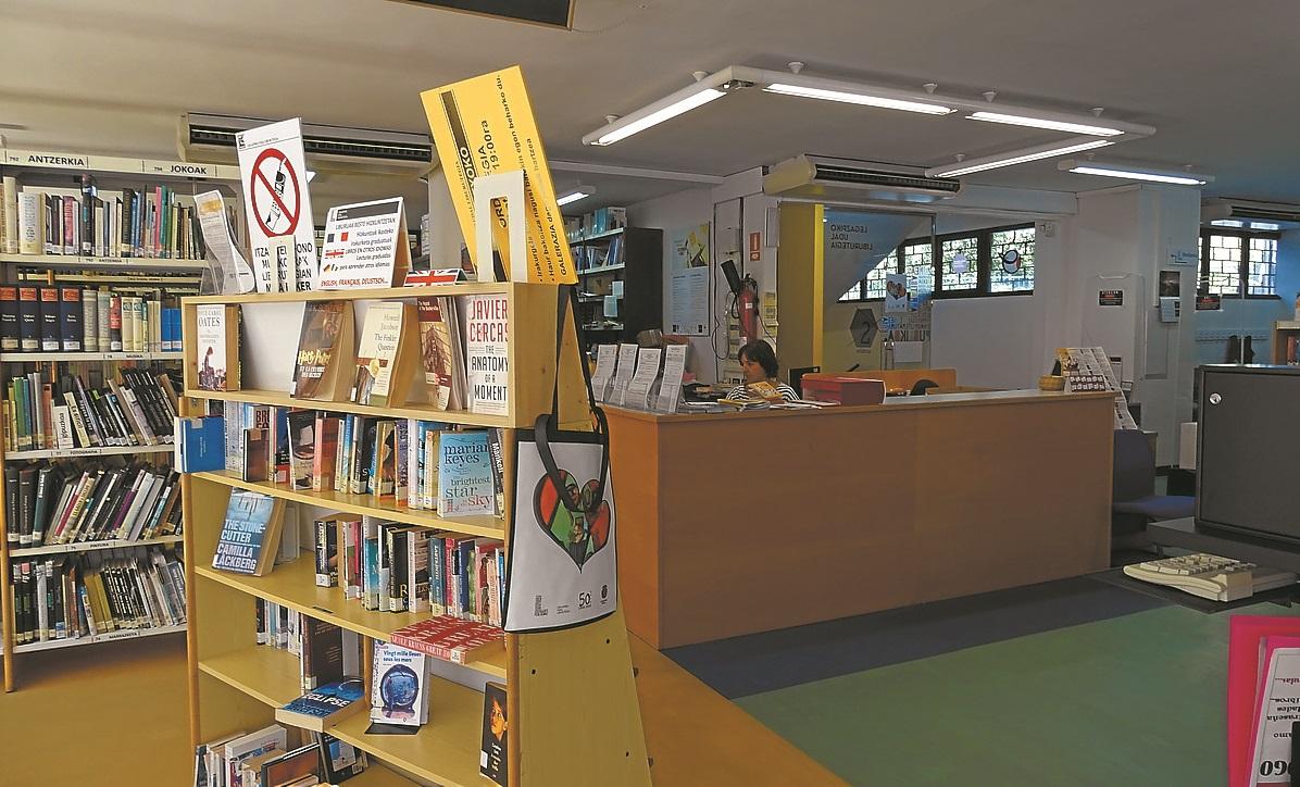 La biblioteca, lista para el verano