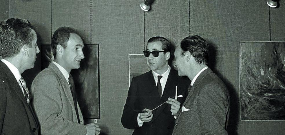 1974 | Las sociedades populares homenajean a Chillida