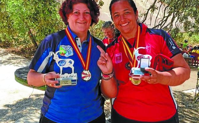 Ana Cerro Bernal revalida su título de campeona de España en 3d arco instintivo