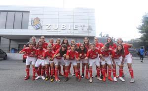 Esperado y prometedor debut de las 'Águilas' lusas en la Donosti Cup
