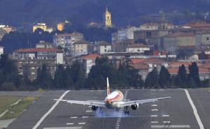 Aviones más grandes para unir Loiu y Madrid