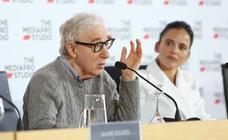 Woody Allen y su equipo presentan la película que rodarán en San Sebastián