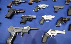 Más de 5.600 armas fueron destruidas en Euskadi el año pasado