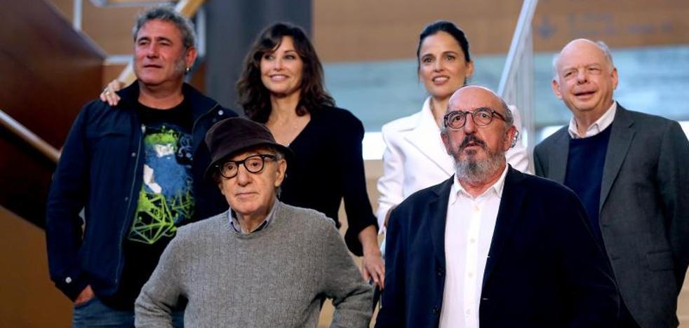 Woody Allen: «Quiero mostrar al mundo mi visión de San Sebastián como un paraíso, tal como hice con Nueva York»