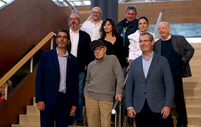 «Es un sueño hecho realidad rodar con este equipo y en Donostia»