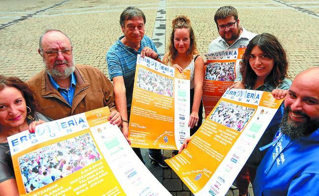 El XXI Erromeria Eguna llenará el sábado las plazas de música y danza