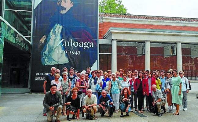 40 personas acudieron a la exposición de Ignacio Zuloaga en el Museo de Bellas Artes