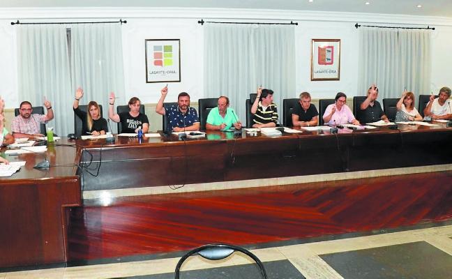 Aprobado el convenio con el Gobierno Vasco sobre los terrenos de Oria Gain en Lasarte-Oria