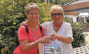 Ainhoa González, ganadora de junio en el calendario municipal