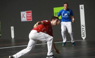 Un gran Irribarria y Martija ganan 22-12 a Olaizola II y Albisu en el Torneo San Fermín