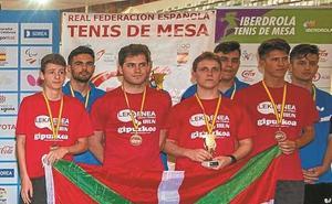 El Leka Enea acabó los campeonatos de España con seis medallas