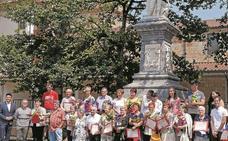 Los premios florales se entregan el viernes a mediodía en el Zelai Aristi de Zumarraga