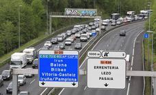 La variante de Donostia, en sentido Aritzeta-Pasaia, registrará cortes de tráfico este fin de semana