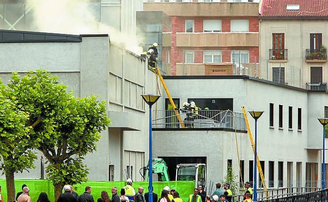 Eguzki critica la «poca información» en torno al incendio de Lekuona