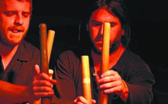 La programación de Kultur vuelve hoy a Zugarramurdi con el concierto a cargo de Hustun Txalaparta