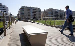 La pasarela de Riberas a Cristina Enea se cierra durante cuatro días