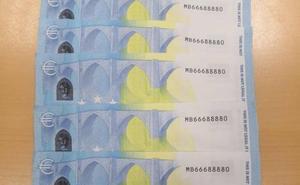 La Ertzaintza detecta un aumento de billetes falsos en las fiestas patronales