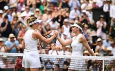 Serena Williams disputará la final de Wimbledon contra Halep