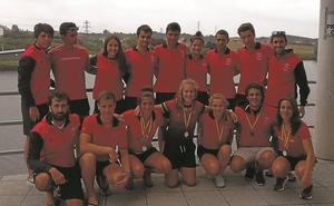 Santiagotarrak-Urbycolan trajo seis medallas del Campeonato de España sprint