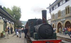 El Museo Vasco del Ferrocarril pondrá en circulación este fin de semana tres trenes de vapor