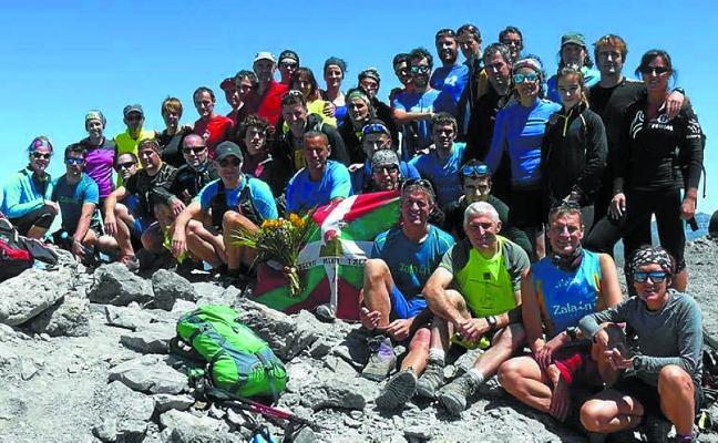 Salida montañera de Agerra Mendi Taldea y Manttale a Gavarnie y el Taillon, mañana