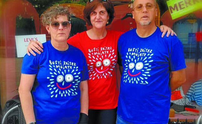 Campaña 'Mójate por la esclerósis múltiple' mañana, en Laubide