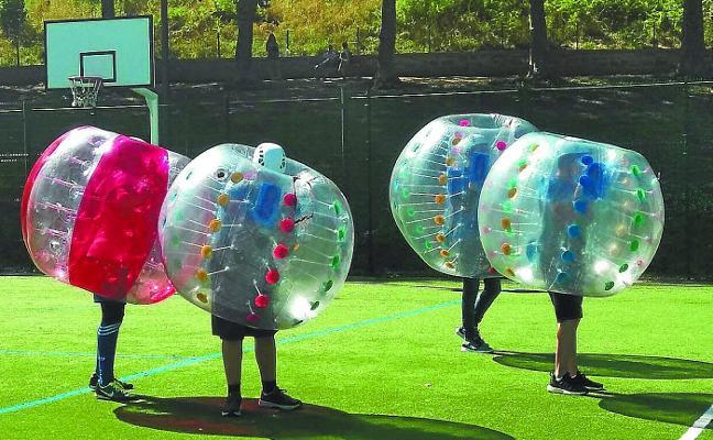 El verano, bajo una burbuja lúdica