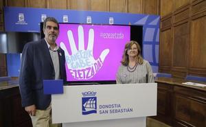El Ayuntamiento de San Sebastián renueva la campaña contra las agresiones sexistas