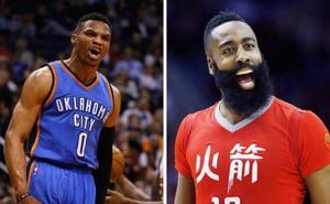 Los Rockets consiguen a Westbrook, que jugará con Harden, a cambio de Paul