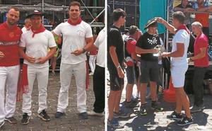 Maika Ariztegi y Josetxo Urrutia ganan en levantamiento de yunque