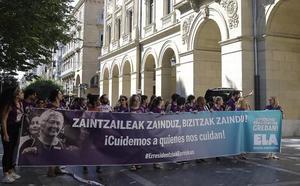 Los sindicatos advierten de la posibilidad de una huelga indefinida en las residencias de Gipuzkoa