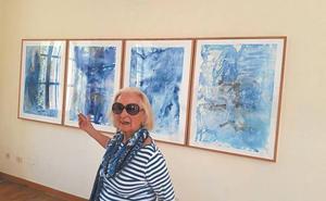 Sanz Enea presenta durante el verano la obra pictórica de Dolores Aguirrezabala