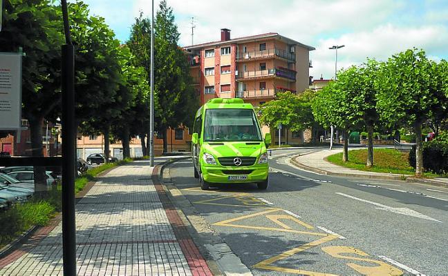 Servicio especial de autobús urbano Junetorri para las próximas fiestas de Aztiria